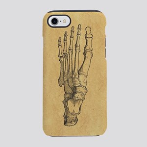 Vintage Foot Bones iPhone 7 Tough Case