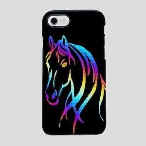 Colorful Horse iPhone 7 Tough Case