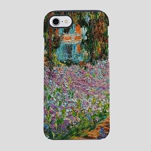 Irises In Monets Garden At Giv iPhone 7 Tough Case