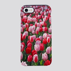 Red & Pink Tulips Holland Neth iPhone 7 Tough Case
