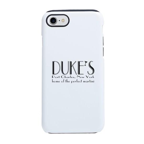 half off 91b38 e361b Black DUKE Martini iPhone 7 Tough Case