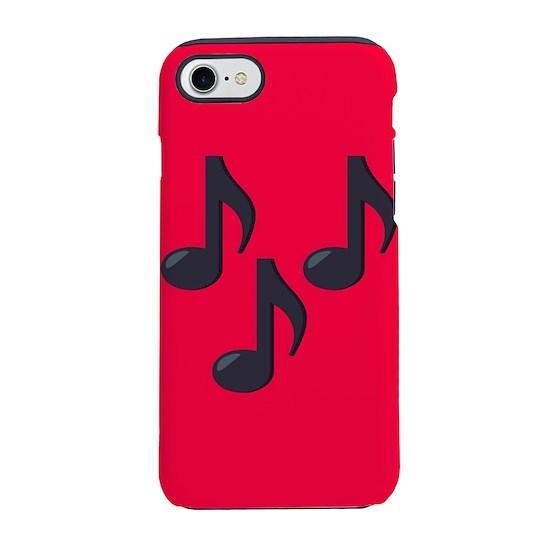 Music Notes Emoji iPhone 7 Tough Case