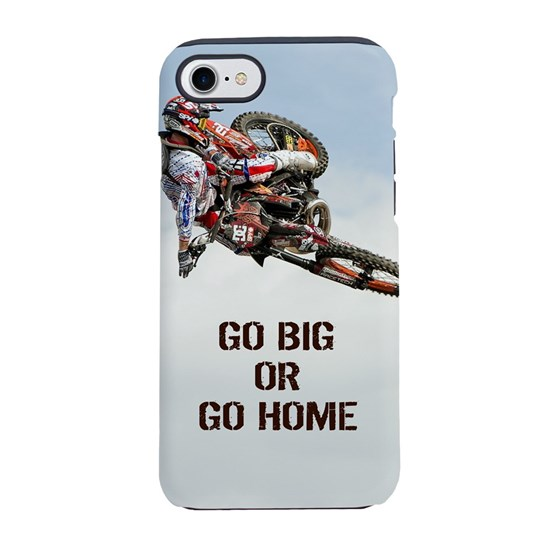 new style b4f6e 5fc28 Motocross Rider iPhone 8/7 Tough Case