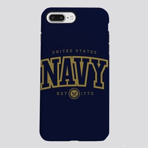 United States Navy Athl iPhone 8/7 Plus Tough Case