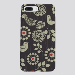 Woodland Birds iPhone 8/7 Plus Tough Case