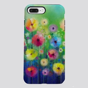 Watercolor Flowers iPhone 8/7 Plus Tough Case