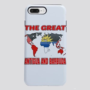 The Great Antigua Desig iPhone 8/7 Plus Tough Case