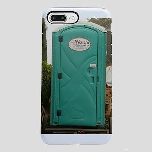 size 40 78013 128cd Toilet IPhone 8/7 Plus Cases - CafePress