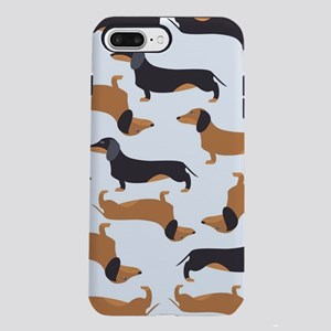 Cute Dachshunds iPhone 7 Plus Tough Case
