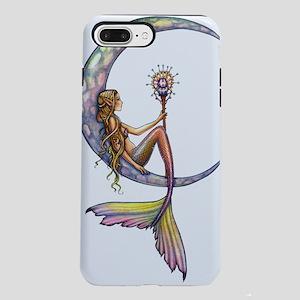 Mermaid Moon Fantasy Art iPhone 7 Plus Tough Case