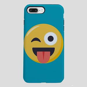 Winky Tongue Emoji iPhone 7 Plus Tough Case