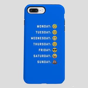 Emoji Days of the Week iPhone 7 Plus Tough Case