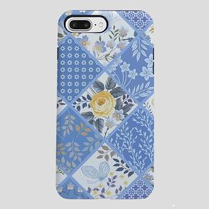 Patchwork Floral iPhone 8/7 Plus Tough Case