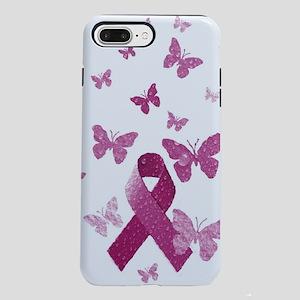 Pink Awareness Ribbon  iPhone 7 Plus Tough Case