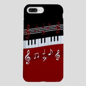 Stylish Piano keys and mu iPhone 7 Plus Tough Case