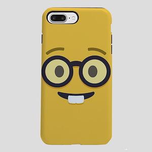 Nerdy Emoji Face iPhone 7 Plus Tough Case