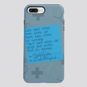 Greys Anatomy Sticky Note iPhone 7 Plus Tough Case