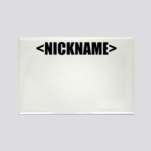 e852bd62a Nickname Personalize It! Rectangle Magnet (10 pack