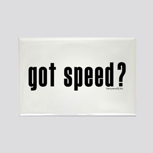 got speed? Rectangle Magnet (10 pack)
