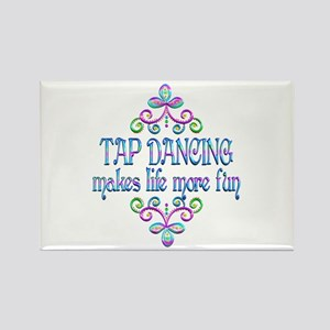 Tap Dancing Fun Rectangle Magnet (10 pack)