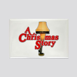 A Christmas Story Movie Lamp Rectangle Magnet (10
