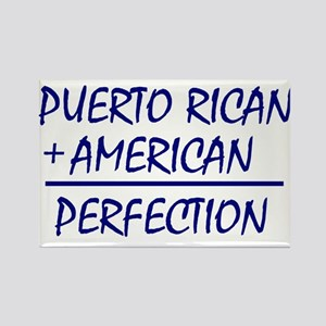 Puerto Rican American heritage Rectangle Magnet (1