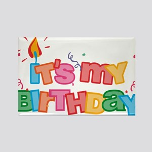 It's My Birthday Letters Magnets