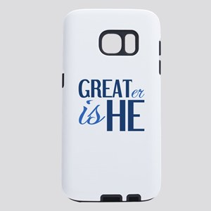 Christian GREATER IS HE Samsung Galaxy S7 Case
