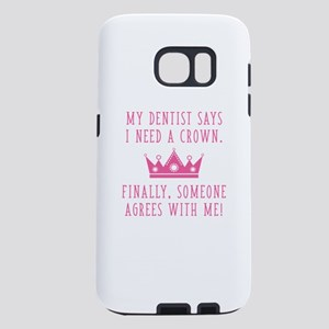 I Need A Crown Samsung Galaxy S7 Case