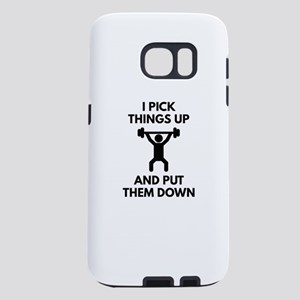 I Pick Things Up Samsung Galaxy S7 Case