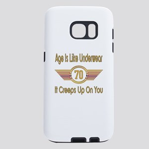 Funny 70th Birthday Samsung Galaxy S7 Case