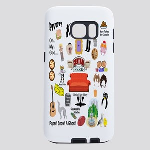 Friends TV Quote Collage Samsung Galaxy S7 Case