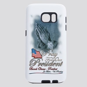pray for our president Samsung Galaxy S7 Case