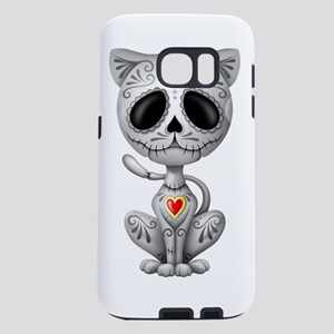 Gray Zombie Sugar Skull Kit Samsung Galaxy S7 Case