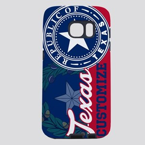 Personalized Texas State Flag Seal Samsung Galaxy