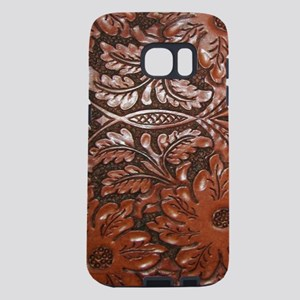 Western Tooled Leather Samsung Galaxy S7 Case