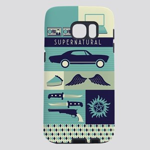 Supernatural TV Collage Samsung Galaxy S7 Case