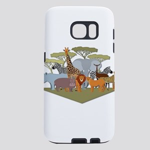African Animals Festival Samsung Galaxy S7 Case