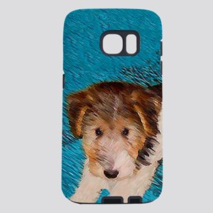 Wire Fox Terrier Puppy Samsung Galaxy S7 Case