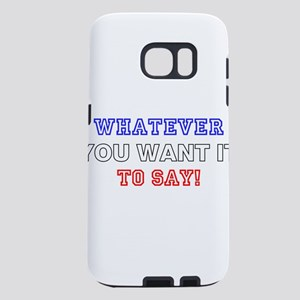 ADD CREATE MAKE YOUR OWN S Samsung Galaxy S7 Case