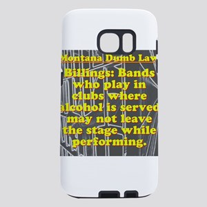 Montana Dumb Law 006 Samsung Galaxy S7 Case