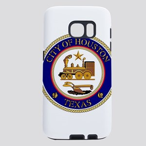 Houston City Seal Samsung Galaxy S7 Case