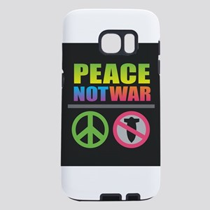 Peace Not War Rainbow Samsung Galaxy S7 Case