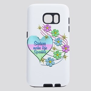 Sisters Make Life Sparkle Samsung Galaxy S7 Case