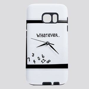 whatever clock Samsung Galaxy S7 Case