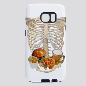human skeleton fast food Samsung Galaxy S7 Case