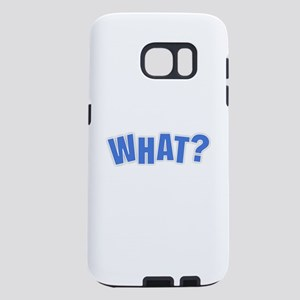 What - Purple Samsung Galaxy S7 Case