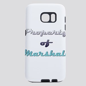 Property Of Marshall Male Samsung Galaxy S7 Case