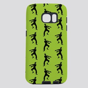 Green Zombie Pattern Samsung Galaxy S7 Case