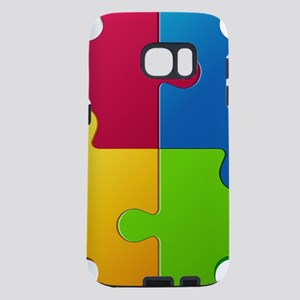 Autism Awareness Puzzle Samsung Galaxy S7 Case